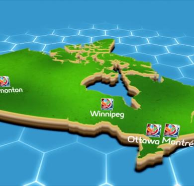 FIFA WWC 2015 HOST CITIES