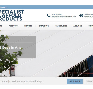 Specialist Scaffold Products